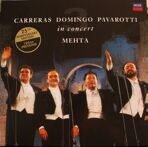 CARRERAS - DOMING -PAVAROTTI The Three Tenors  ‎– The Three Tenors 25th Anniversary (180 g) LP