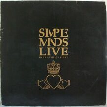Simple Minds ‎– Live In The City Of Light 2LP VIRGIN Mint