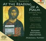 "Serge Tanejew: Kantate Nr.2 op.36 ""At the Reading of a Psalm""  SACD  под заказ 2-4 недели"