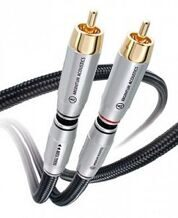 Argentum Acoustics MYTHOS Interconnect Cable RCA,1m