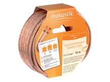 INAKUSTIK Star LS cable, 2 x 0.75 mm2, 10 m